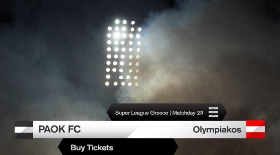 Κυκλοφορούν και… εξαφανίζονται τα εισιτήρια για το ΠΑΟΚ – Ολυμπιακός