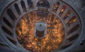 Ξανανοίγει τις πύλες του ο Πανάγιος Τάφος στην Ιερουσαλήμ