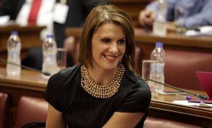 Στην ΝΔ ετοιμάζεται να προσχωρήσει η ανεξάρτητη βουλευτής Κατερίνα Μάρκου