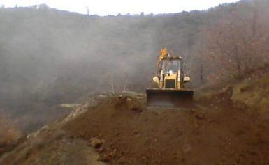 Τρίκαλα: Εκκενώνονται σπίτια στο χωριό Πιαλεία λόγω διάβρωσης του εδάφους