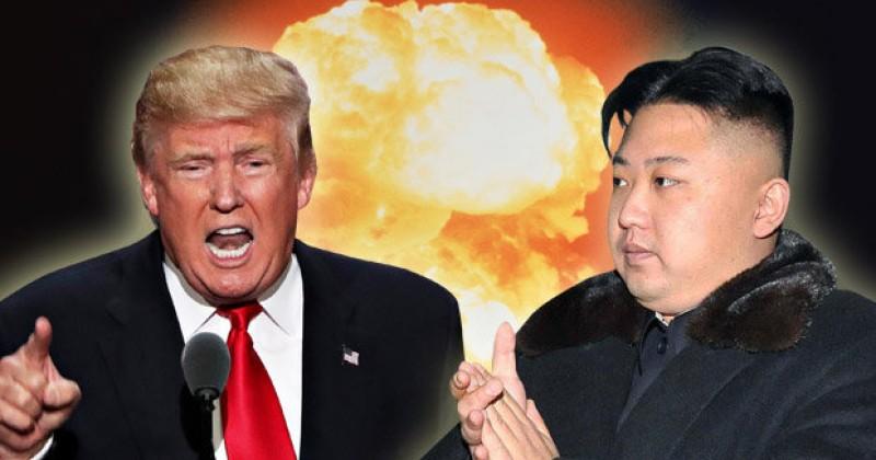 Παγκόσμιος τρόμος: Ο Ντόναλντ Τραμπ απειλεί ευθέως με πόλεμο τη Βόρεια Κορέα