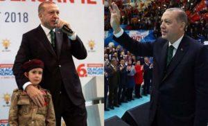 """Μια σημαία """"έταξε"""" ο Ερντογάν σ΄ ένα μικρό κορίτσι """"αν γίνει μάρτυρας""""!"""