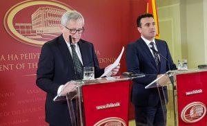 Πρόκληση Γιούνκερ: Οι «Μακεδόνες» σημειώνουν σημαντική πρόοδο προς την Ευρώπη
