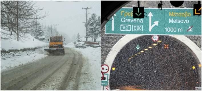 Η κακοκαιρία «Κρέοντας» σαρώνει την Ελλάδα -Χιόνια σε Ηπειρο, Φθιώτιδα,Τρίκαλα [εικόνες & βίντεο]