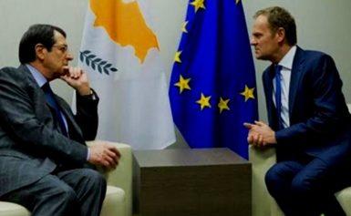 «Ψυχρολουσία» από ΕΕ σε Κύπρο – Ν.Τουσκ προς Ν.Αναστασιάδη: «Σας καταλαβαίνω αλλά να τα βρείτε με τη Τουρκία»!