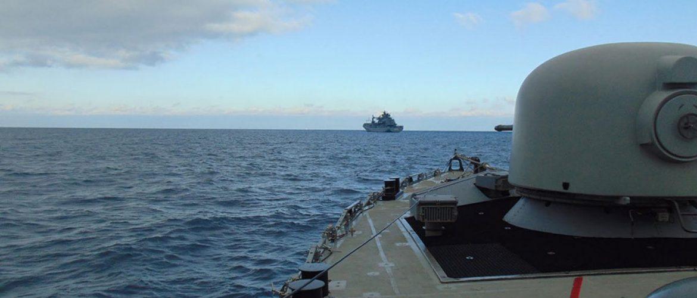 Συνεκπαίδευση του Πολεμικού Ναυτικού με μονάδες της Συμμαχικής Δύναμης SNMG2 (φωτό)