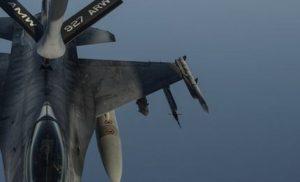 Βίντεο: Ανεφοδιασμοί ελληνικών μαχητικών F-16 από αεροσκάφη τάνκερ της USAF στο Αιγαίο