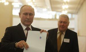 Ρωσία: Επανεκλογή Πούτιν με ποσοστό άνω του 70% δείχνουν τα αποτελέσματα