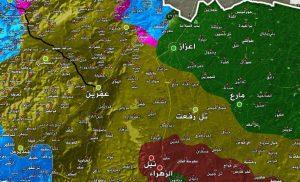 Κλείνει η τουρκική «λαβίδα» στην Αφρίν: Κατέλαβαν το 35% της περιοχής (χάρτης)