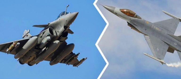Γαλλική «σφήνα» με Rafale «παγώνει» την απόφαση για την αναβάθμιση των F-16