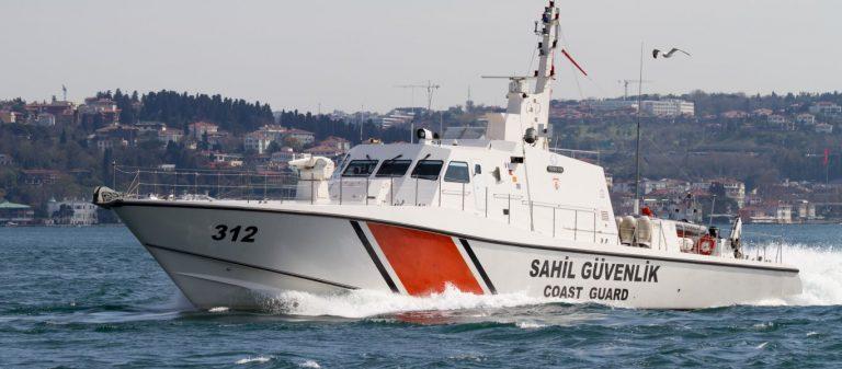 Τουρκικά πολεμικά εντός Εθνικών Χωρικών Υδάτων και NAVTEX στo Αγαθονήσι με αφορμή το πολύνεκρο ναυάγιο