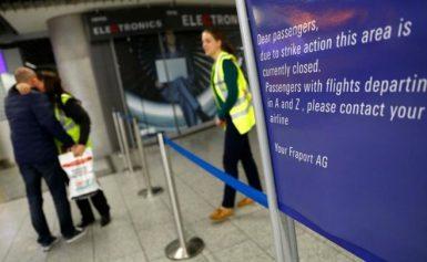 Χάος στα αεροδρόμια της Γερμανίας – Ακυρώνονται εκατοντάδες πτήσεις