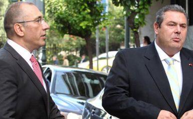 Καμμένος εναντίον Καμμένου – Έξαλλος ο Υπουργός Εθνικής Άμυνας με τον βουλευτή των ΑΝΕΛ