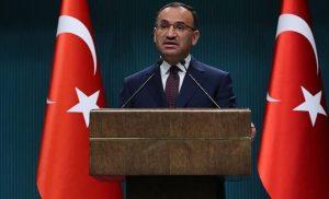 Επιθετικές δηλώσεις Τούρκου αντιπρόεδρου… εμμένει ότι κατέβασαν τη σημαία