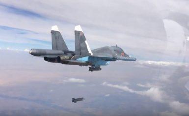 Έκτακτο Ρωσικό Su-34 με πυραύλους αέρος-επιφανείας Kh-35U πάνω από την Αν. Μεσόγειο;