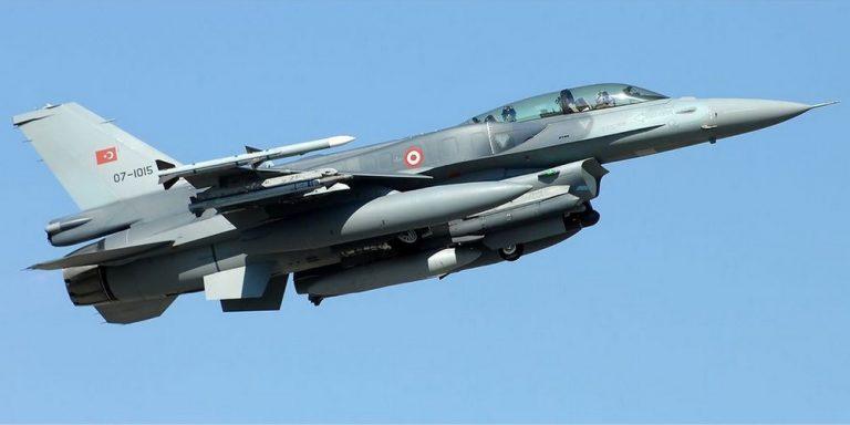 Νέες παραβιάσεις από τουρκικά F16 στη Ρόδο – Τι έγινε στην Ρω