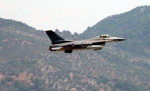 Χαμηλή πτήση τουρκικού F-16 πάνω από το Φαρμακονήσι