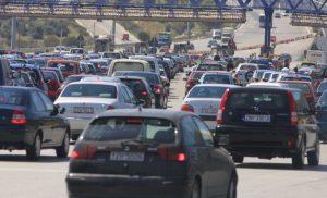 Επιστροφή των εκδρομέων: Χάος στην γέφυρα του Ρίου – Αυξημένη η κίνηση στις Εθνικές Οδούς