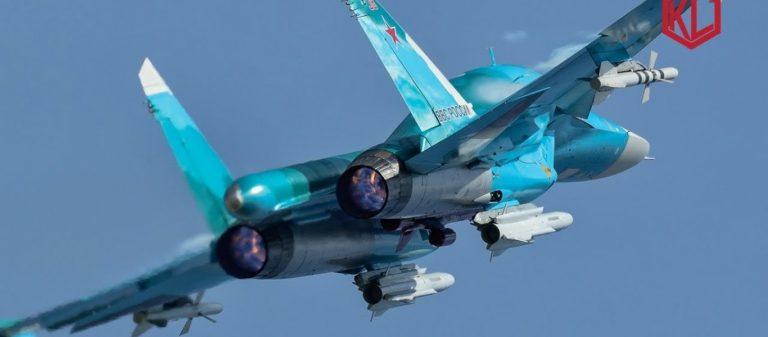 Ρωσική προειδοποίηση: Πάνοπλα ρωσικά μαχητικά Su-34 με βλήματα αέρος-επιφανείας πάνω από την Ταρτούς