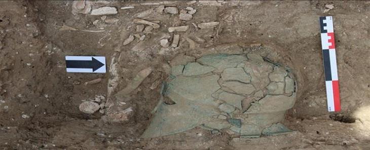 Κορινθιακή περικεφαλαία έφερε στο φως η αρχαιολογική σκαπάνη στη Ρωσία