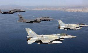 Αερομαχία και 20 παραβιάσεις από τουρκικά αεροσκάφη πάνω από το Αιγαίο