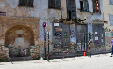 Nafplio historical buildings decay & crumble (PHOTOS)