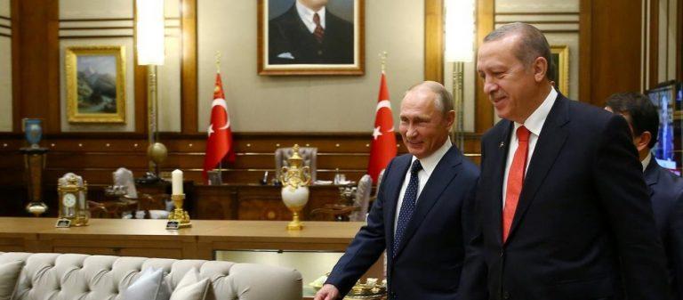 """Το """"colpo grosso"""" του Β.Πούτιν με την Τουρκία: Την «τραβάει» εκτος ΝΑΤΟ και την κάνει περιφερειακή υπερδύναμη"""