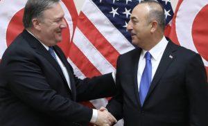 Συνάντηση Μ.Πομπέο και Μ.Τσαβούσογλου: ΗΠΑ και Τουρκία «τα βρήκαν» σε όλα! – Εγγυήσεις Αμερικανών για Κούρδους και F-35