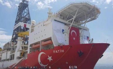 Αυτά είναι τα σημεία που θα τρυπήσει το τουρκικό γεωτρύπανο Fatih