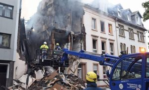 Ισχυρή έκρηξη στο Wuppertal της Γερμανίας με 25 τραυματίες [εικόνα]