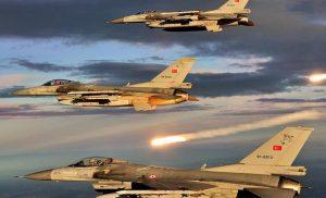 34 παραβιάσεις του εθνικού εναέριου χώρου από οκτώ τουρκικά F-16 & F-4