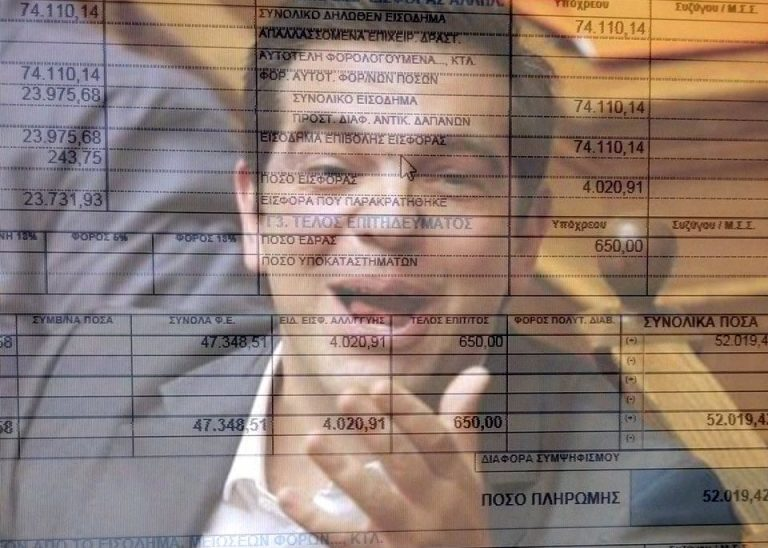 Εισόδημα 74.100 και φόρος… 52.000! Δείτε το εκκαθαριστικό της εφορίας ενός ελεύθερου επαγγελματία που έγινε viral