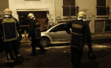 Τρόμος στον Κολωνό: Κινδύνευσαν παιδιά μετά από εμπρησμό αυτοκινήτου