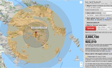 Πάνω από 2,69 εκ. νεκροί σε Αθήνα και 885.000 σε Θεσσαλονίκη σε περίπτωση πυρηνικού πολέμου – Δείτε αναλυτικά