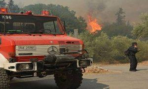 Πολύ υψηλός ο κίνδυνος πυρκαγιάς και σήμερα Πέμπτη (χάρτης)