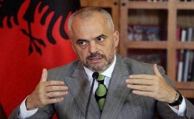 Ο Έντι Ράμα «σπρώχνει» τους Αλβανούς των Σκοπίων να ψηφίσουν στο δημοψήφισμα