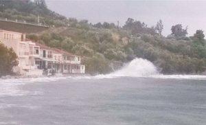 Ζημιές σε Μεθώνη και Φοινικούντα από το πέρασμα του κυκλώνα Ζορμπά