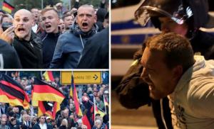 Γερμανία: Εννέα τραυματίες σε συγκρούσεις ανάμεσα σε ακροδεξιούς και αντιφασίστες διαδηλωτές
