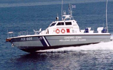 Βυθίστηκε αλιευτικό σκάφος κοντά στο Σούνιο