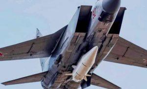 «Περίεργο» ρωσικό δημοσίευμα στοχοποιεί με υπερ-υπερηχητικά βλήματα Kh-47M2 Kinzhal τις βάσεις ΗΠΑ-ΝΑΤΟ σε Κρήτη-Ιταλία