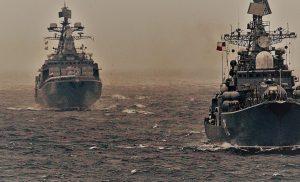 Επικίνδυνη κλιμάκωση στην Α.Μεσόγειο: Ρωσικά πολεμικά στοχοποίησαν την φρεγάτα ΕΛΛΗ (F450)!