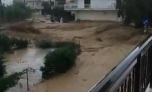 Πλημμύρες στην παραλιακή ζώνη του Κιάτου