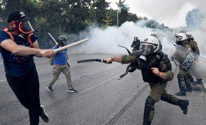Οκτώ συλλήψεις για τα επεισόδια της Θεσσαλονίκης
