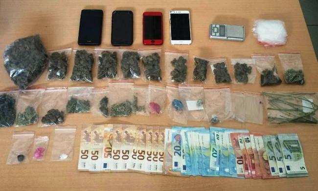 Οκτώ συλλήψεις σε Σέρρες και Θεσσαλονίκη για υποθέσεις ναρκωτικών