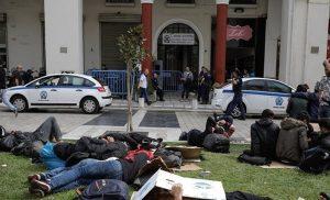 Στα Διαβατά θα μεταφερθούν οι πρόσφυγες από την πλατεία Αριστοτέλους