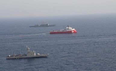 """Αποκαλυπτικός διάλογος μεταξύ της ελληνικής φρεγάτας και Barbaros: """"Καλείσαι να εξέλθεις από την περιοχή"""""""