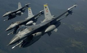 «Βόλτα» τουρκικών F-16 πάνω από το Φαρμακονήσι