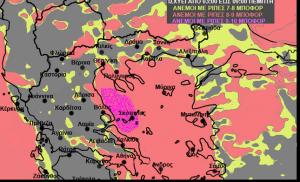 Εκτακτη προειδοποίηση του Σάκη Αρναούτογλου. Προσοχή τις επόμενες 24 ώρες… (χάρτες)