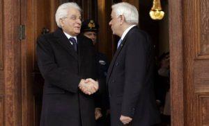 Συγγνώμη στην Ελλάδα για τον πόλεμο του 1940 ζήτησε ο Ιταλός πρόεδρος Σέρτζιο Ματαρέλα