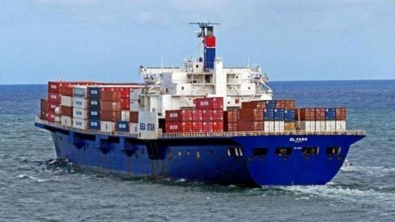 Φορτηγό πλοίο προσέκρουσε σε βραχονησίδα ανατολικά της Μονεμβασιάς